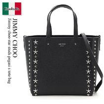 Jimmy choo star studs pegasi s tote bag