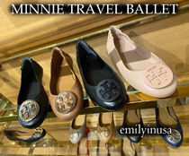 21年春★TORY BURCH★MINNIE TRAVEL BALLET 履きやすい