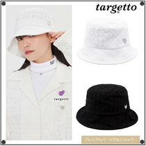 TARGETTO SEOULのLACE HEART RING BUCKET HAT 全2色