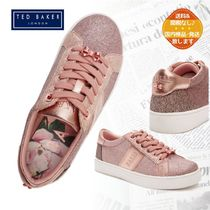 TED BAKER(テッドベーカー) キッズスニーカー 【TED BAKER】ラメ カップソール キッズ スニーカー