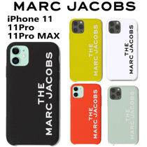 MARC JACOBS◆iPhone 11/Pro/Pro Max Case◆ロゴ スマホケース