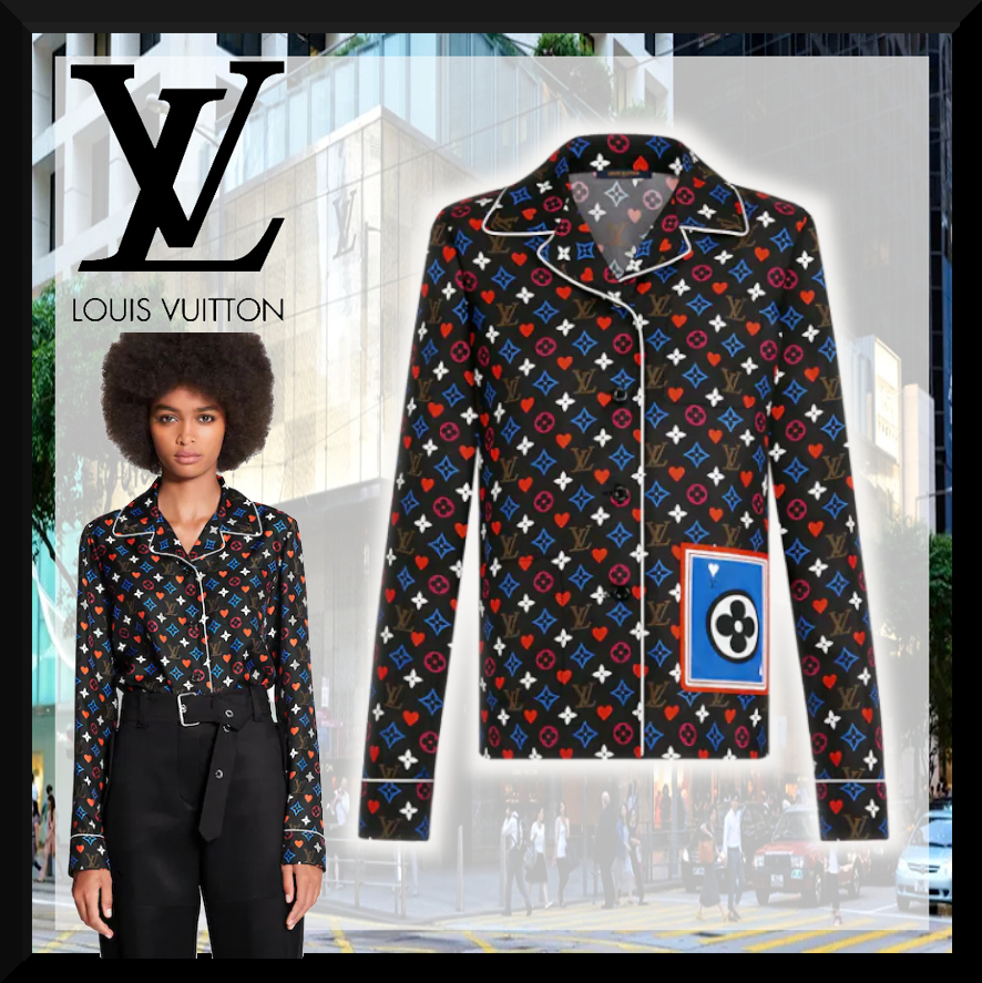 【21CR★シルクで肌触り◎】Louis Vuitton パジャマ トップス (Louis Vuitton/ルームウェア・パジャマ) 1A8LVW  1A8LVX  1A8LVY