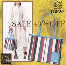 SALE 40%OFF!! LOEWE CUSHION TOTE STRIPES BAG