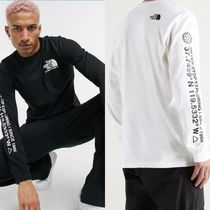 【The North Face】Logo long sleeve Tシャツ