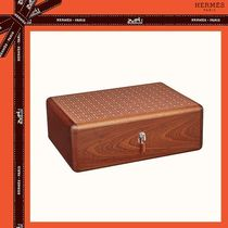 *HERMES Coffret Mosaique Or 時計・カフリンクス用ボックス