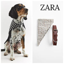 ZARA(ザラ) 首輪・ハーネス・リード ZARA【PET COLLECTION】 LEATHER BANDANA COLLAR