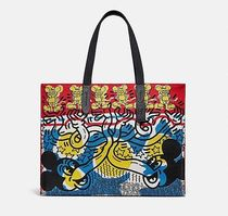 Coach ◆ 5227 Disney mickey mouse x keith haring tote 42