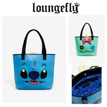 【Lounge Fly】●ディズニー●STITCH AND SCRUMP TOTE BAG