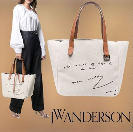★JW Anderson★ プリント トートバッグ
