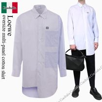 Loewe oversize multi-panel cotton shirt