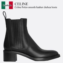 Celine Folco smooth leather chelsea boots