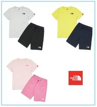 THE NORTH FACE K'S WOVENSHORTS LOUNGE EX SET 3色展開