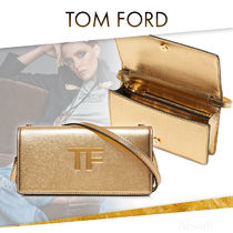 【20AW NEW】 TOM FORD_women /METALLIC PALMELLATOTFミニバッグ