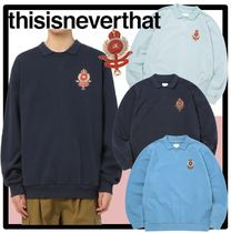 ★関税込★thisisneverthat★Polo Neck Sweatshir.t★人気