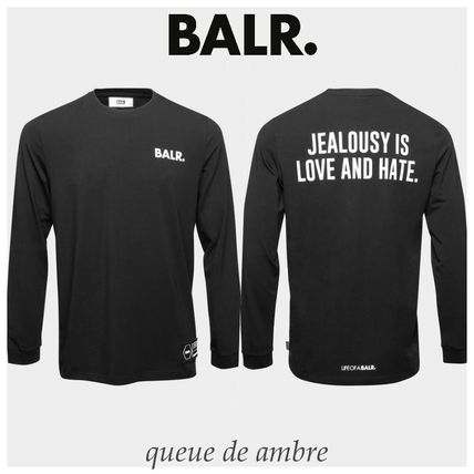 BALR.★ LOVE AND HATE STRAIGHT ロゴ ロンT★関税・送料込