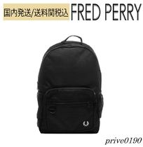 FRED PERRY(フレッドペリー) バックパック・リュック 送料関税込【FREDPERRY】Authentic Textured Polyester Backpack