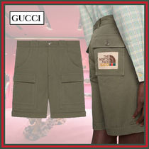 GUCCI×THE NORTH FACE★ナイロンショーツ