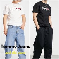 """""""Tommy Jeans"""" タイムレス ラージフラッグ ロゴTシャツ"""