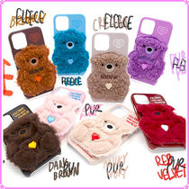 【SECOND UNIQUE NAME】SUN CASE PATCH BEAR スマホケース 全8種