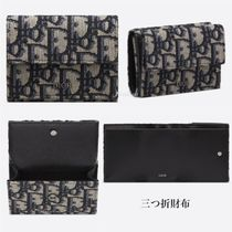 """☆Dior☆""""Dior Oblique"""" コンパクト♪ミニ*三つ折財布"""