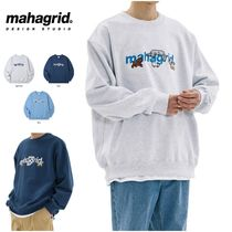 さらに100円引き◆MAHAGRID◆CATS AND DOGS SWEATSHIRT