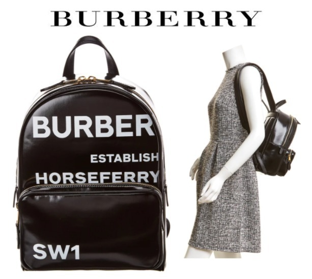 BURBERRY☆Horseferry Print Coated Canvas Backpack (Burberry/バックパック・リュック) 64806730