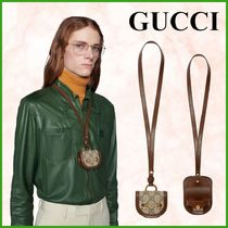 GUCCI♠ホースビット1955 本革!!AirPods AirPodsProケース