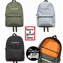 have a good time SIDE LOGO BACKPACK PK213 追跡付