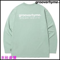 【GROOVERHYME】◆NYC LOCATION LONG SLEEVE T-SHIRTS (MINT)◆