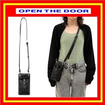 [OPEN THE DOOR] crocodile mini bag / 追跡付