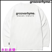 【GROOVERHYME】◆NYC LOCATION LONG SLEEVE T-SHIRTS (WHITE)◆