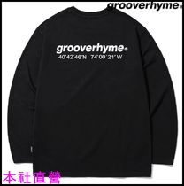 【GROOVERHYME】◆NYC LOCATION LONG SLEEVE T-SHIRTS (BLACK)◆