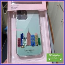 【kate spade】rock center iphone★iPhone12♪各種対応★