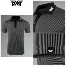 【PXG】☆ゴルフ☆ ATHLETIC FIT PERFORMANCE PINSTRIPE POLO