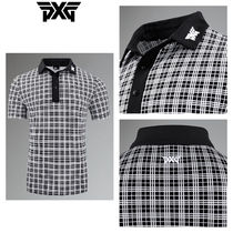 【PXG】☆ゴルフ☆ COMFORT FIT PERFORMANCE PLAID POLO
