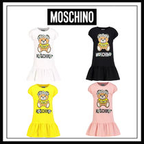 Moschino(モスキーノ) キッズワンピース・オールインワン 【4-14Y】MOSCHINO モスキーノ コットンワンピース 4colors