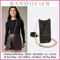 iPhone・対応機種豊富 ☆Bandolier☆ Mona Side Slot Studded