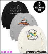 【GROOVE RHYME】◆9TH ANNIVERSARY 3PACK SWEAT SHIRTS EDITION