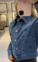 2021最新作★CHANEL S/S★Embroidered Washed Denim JK
