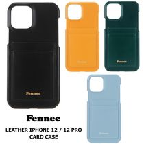 【Fennec】LEATHER iPhone12/12PRO CARD CASE スマホケース全4色