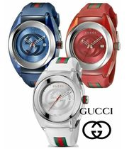 ★グッチ★ Gucci Watch SYNC Rubber Band 46mm 選べる6color