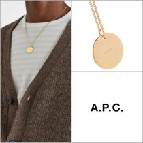 【A.P.C】Eloi ロゴペンダントネックレス '関税込み'