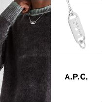 【A.P.C】ID ロゴペンダントネックレス '関税込み'