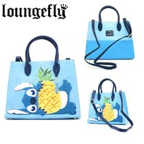 【Lounge Fly】●ディズニー●LILO & STITCH CHENILLE TOTE BAG