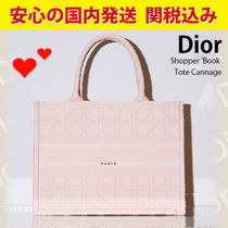 関税送料込国内発送★Dior Shopper Book Tote Cannage S Rose