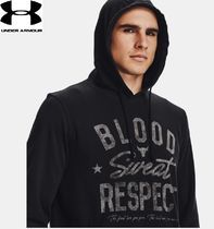 【UNDER ARMOUR】Project Rock Terry BSRクールロゴフーディ