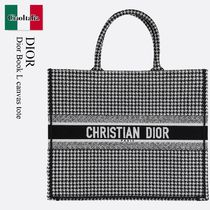 Dior Book L canvas tote