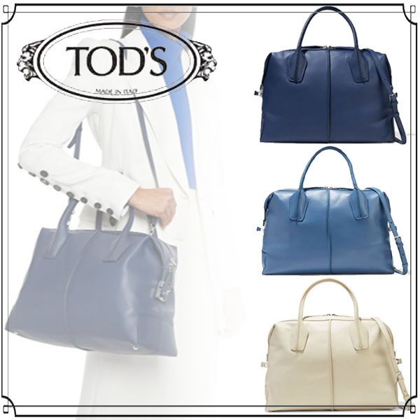【TOD'S】トッズ☆D-Styling レザー トートバッグ 送料関税込み (TOD'S/トートバッグ)  9649229528733250   9649229528732958   9649229528732321