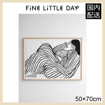 ★Fine Little Day★BORED POSTER・50×70㎝★北欧ポスター