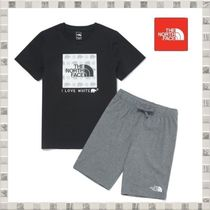 THE NORTH FACE K'S GREEN EARTH LOUNGE SET Tシャツ パンツ
